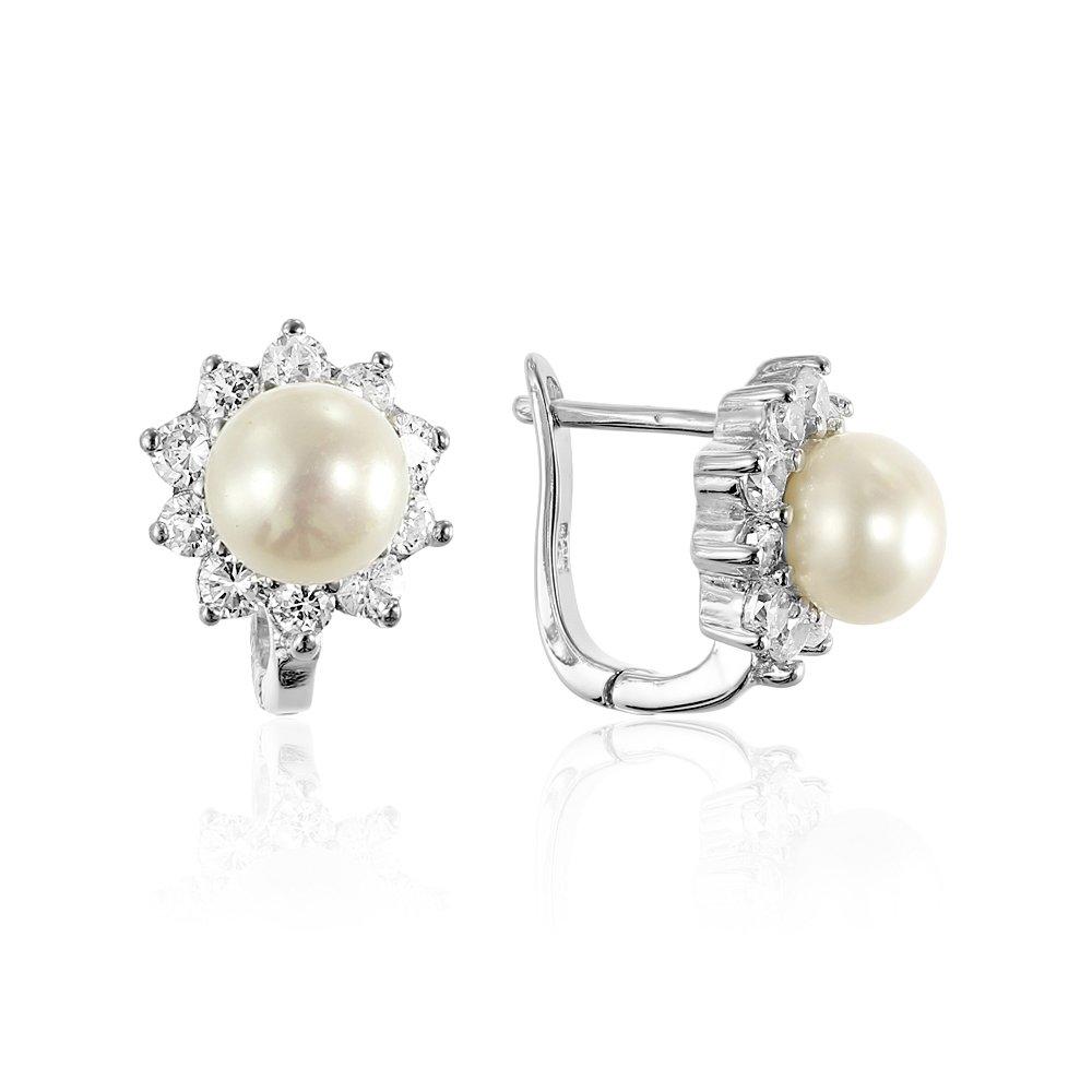 Cercei mici cu perle